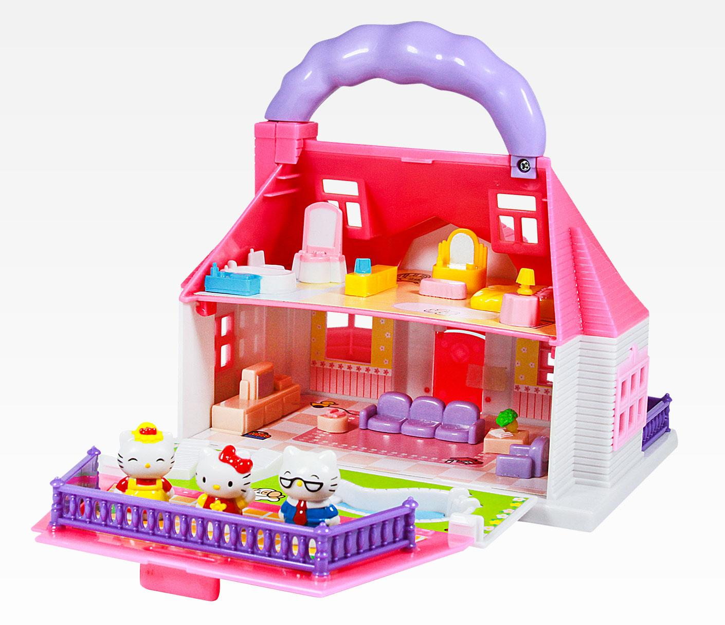 Hello Kitty Mini Mascot Doll House Puzzle Games Online Hello Kitty