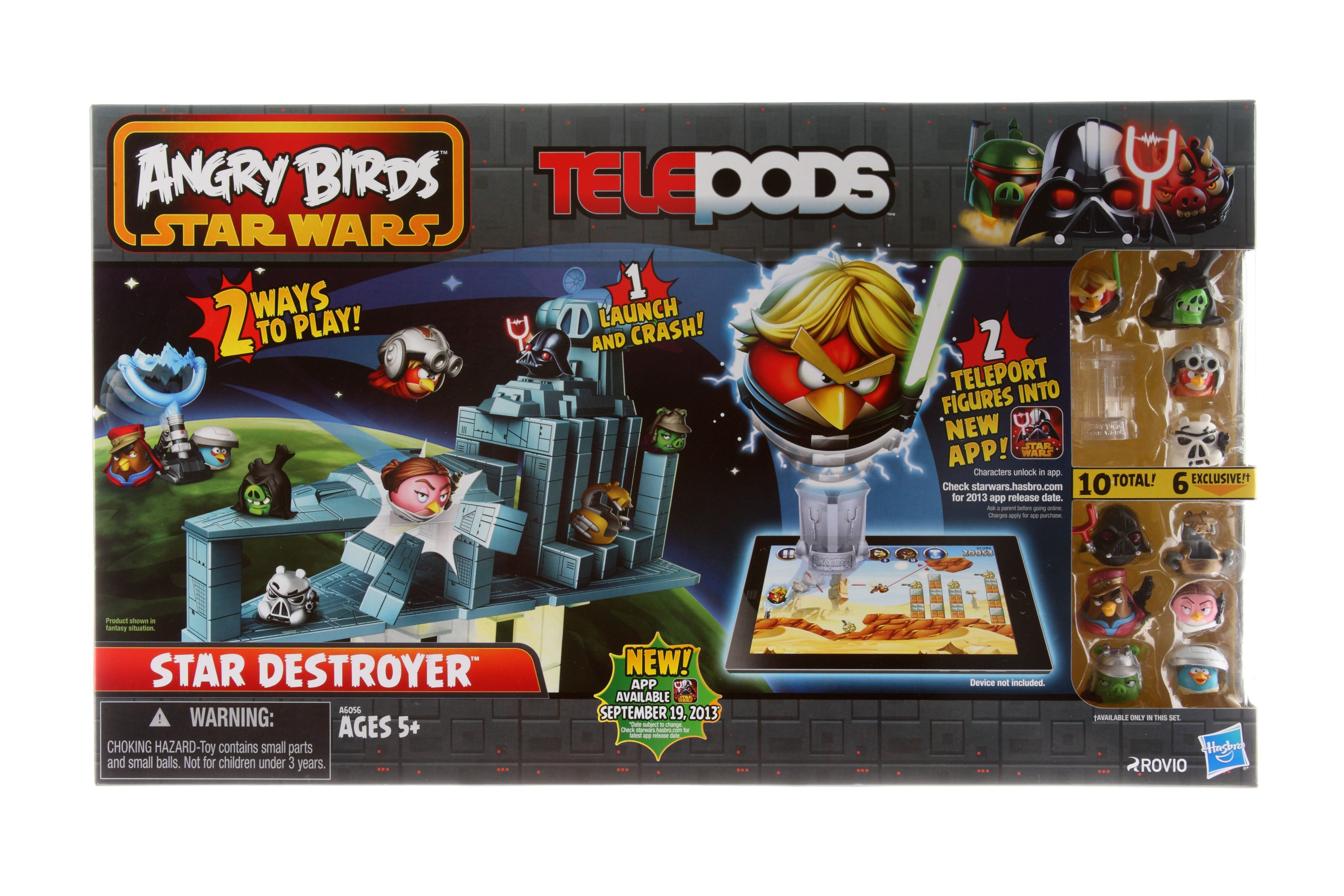 angry birds star wars 2 telepods star destroyer images galleries with a bite. Black Bedroom Furniture Sets. Home Design Ideas