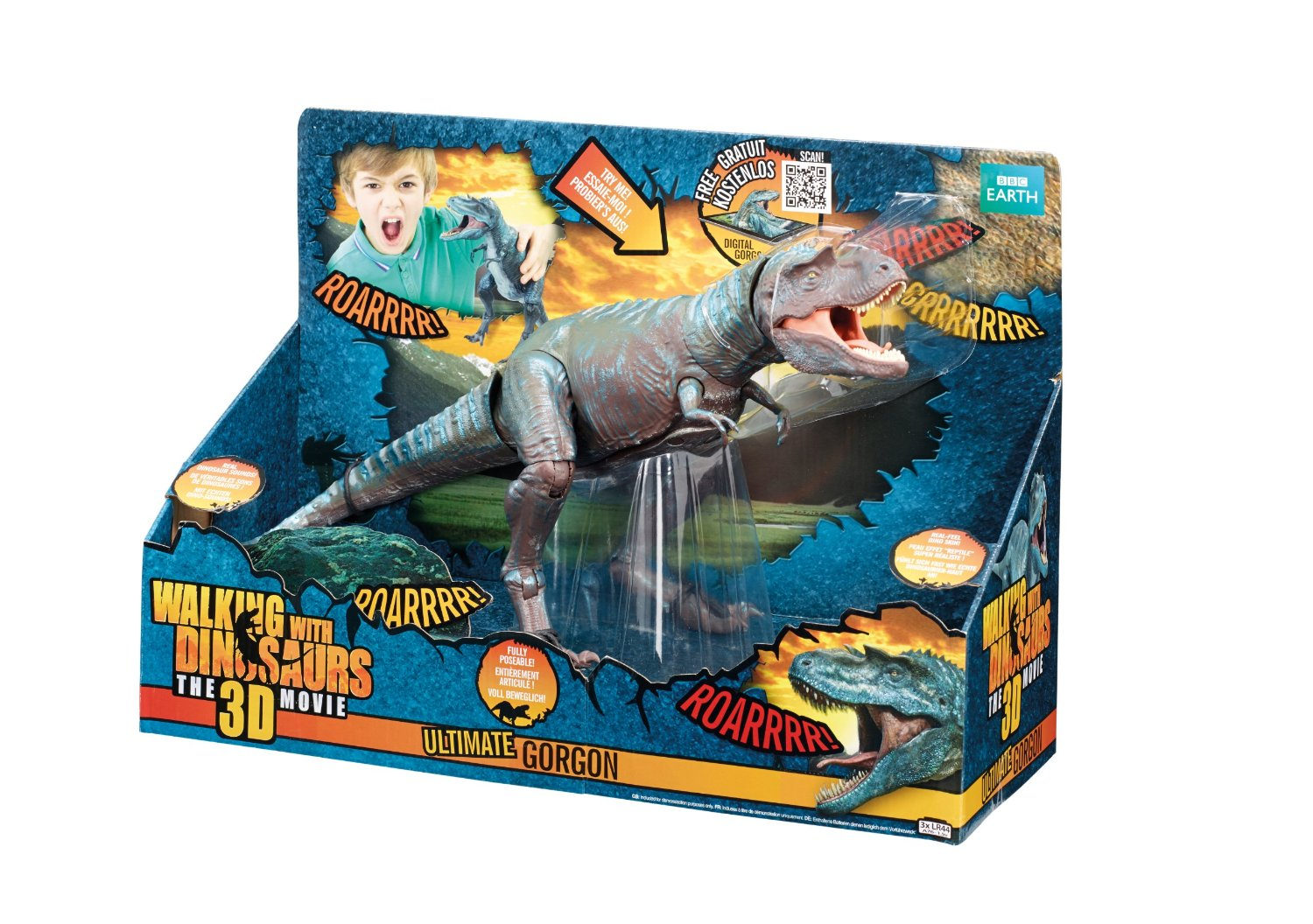 "Walking With Dinosaurs 3d Toys Gorgon WWD 12"" ULTIMATE ..."