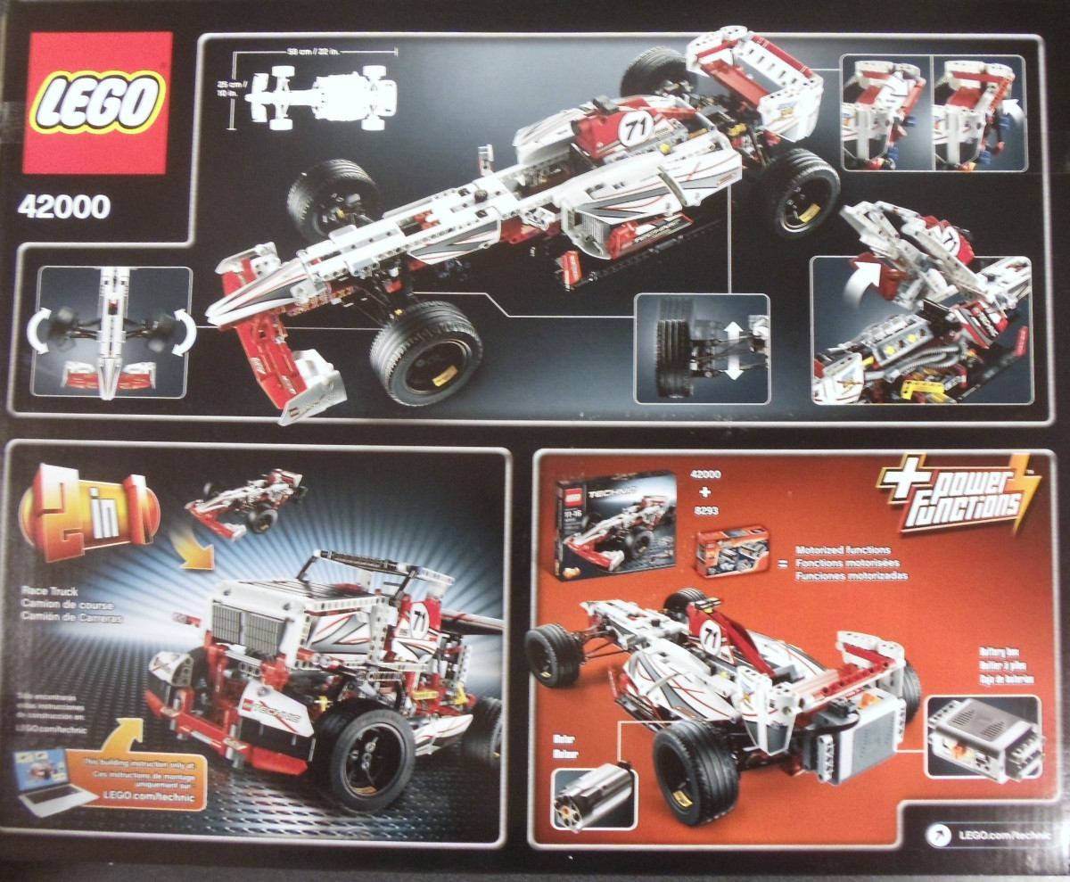 lego technic grand prix racer byrnes online. Black Bedroom Furniture Sets. Home Design Ideas