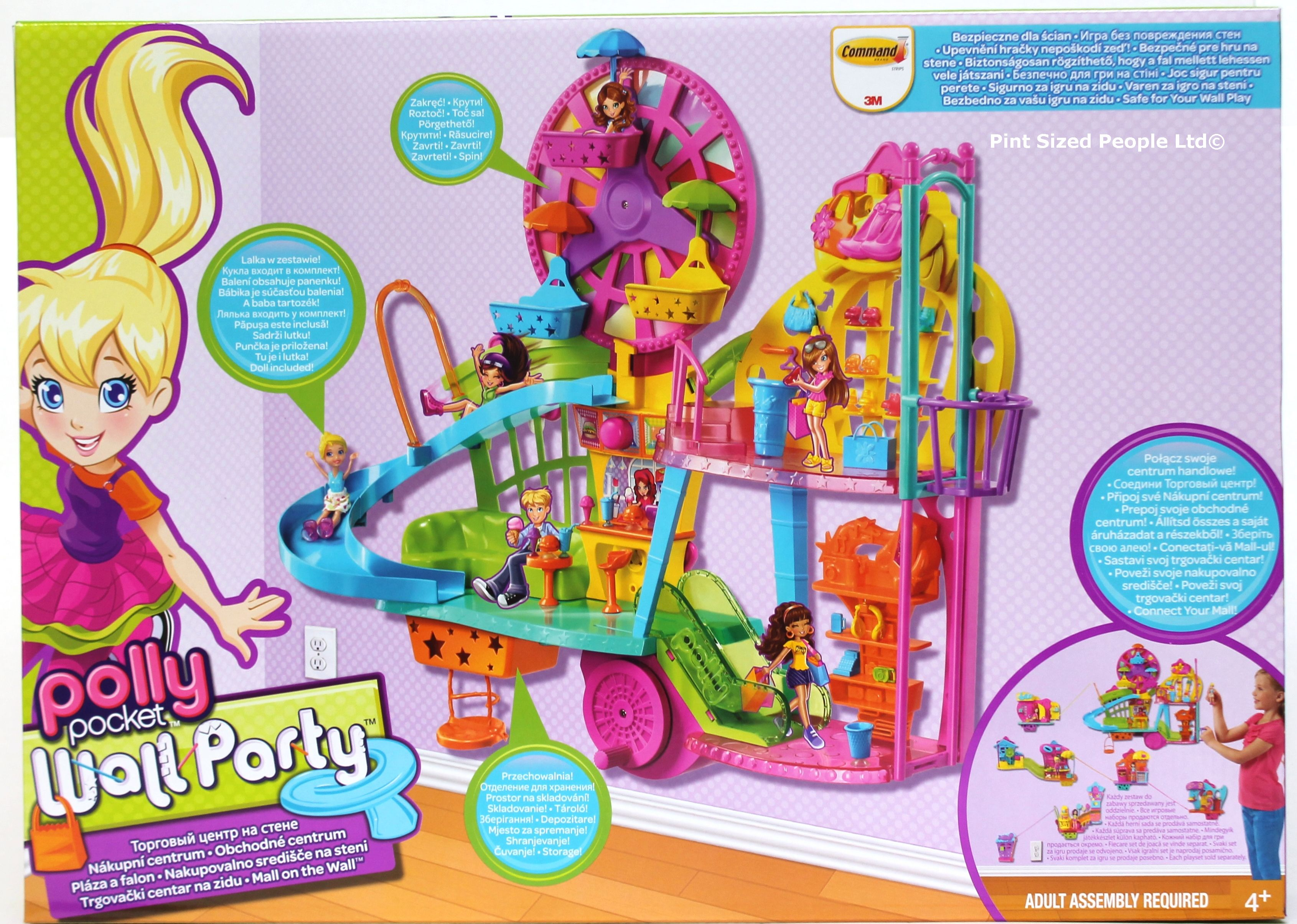 ... Toys / Dolls and Playsets / Polly Pocket Wall Party Mall on the Wall: https://www.byrnesonline.ie/shop/world-of-wonder/polly-pocket-wall...