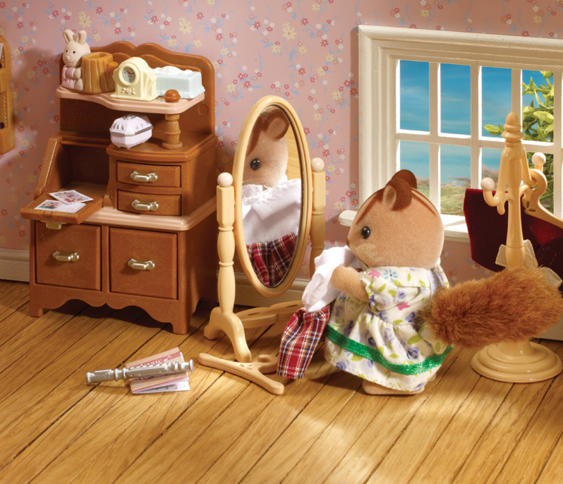 Sylvanian families children 39 s furniture collection for Sylvanian classic furniture set