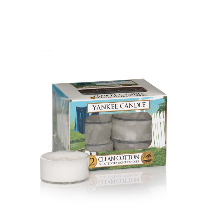 1016718tealight Clean Cotton