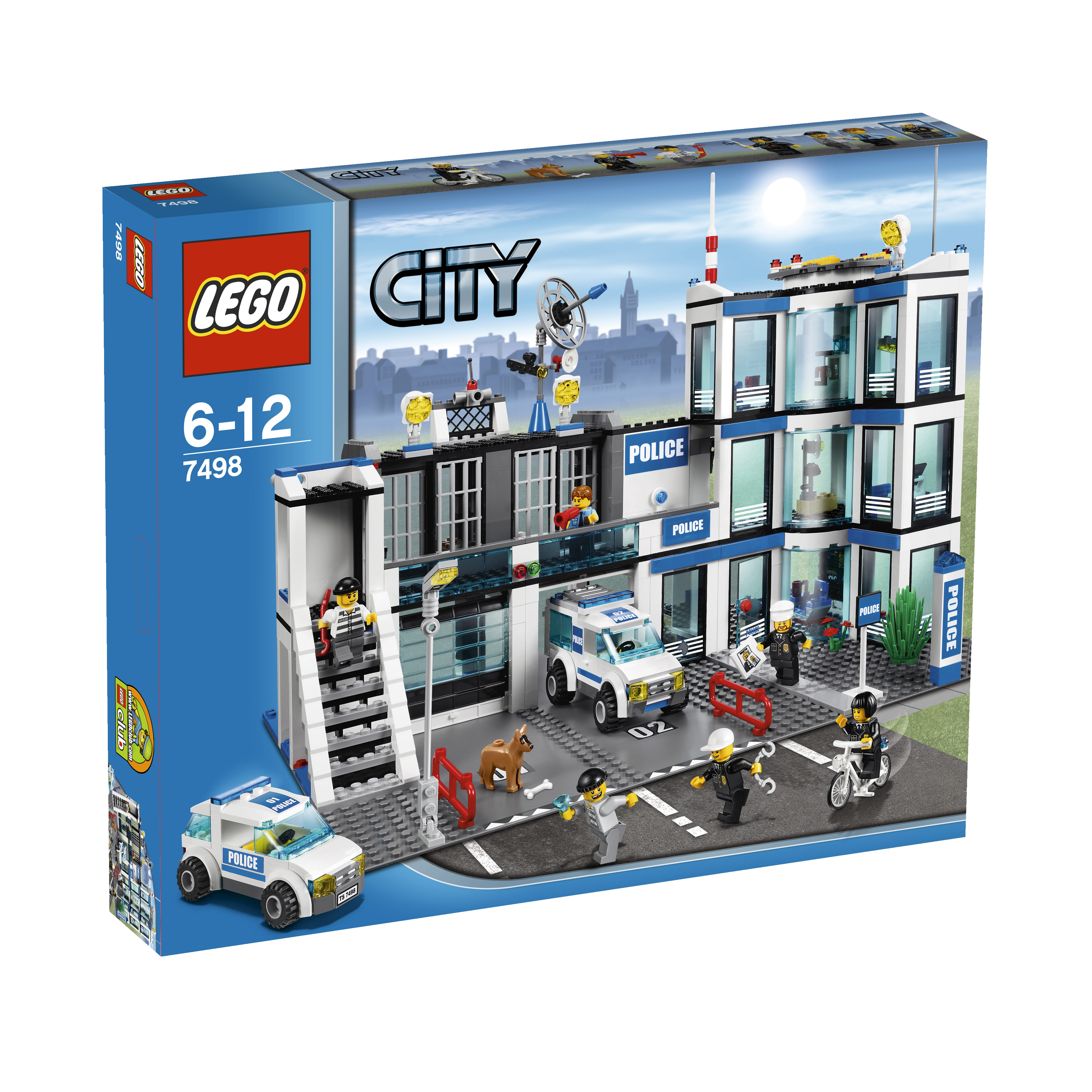 lego city police station byrnes online. Black Bedroom Furniture Sets. Home Design Ideas