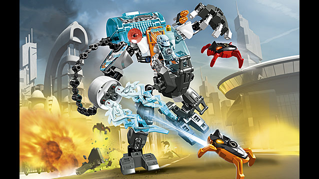 LEGO Hero Factory Stormer Freeze Machine - Byrnes Online