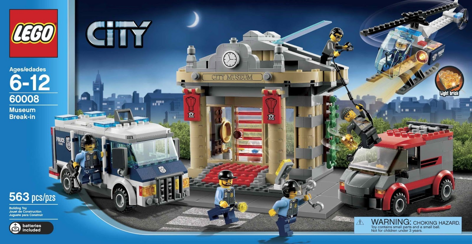 lego city museum break in byrnes online. Black Bedroom Furniture Sets. Home Design Ideas