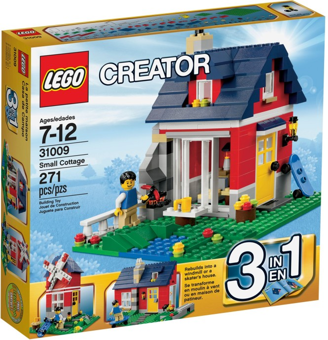 Lego Creator Small Cottage Byrnes Online