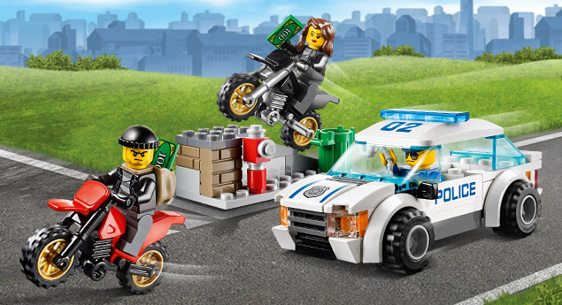 Lego City High Speed Police Chase - Byrnes Online