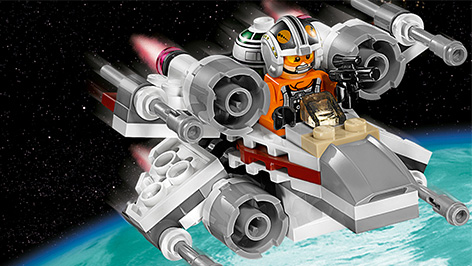 LEGO Star Wars X-Wing Fighter Microfighter - Byrnes Online