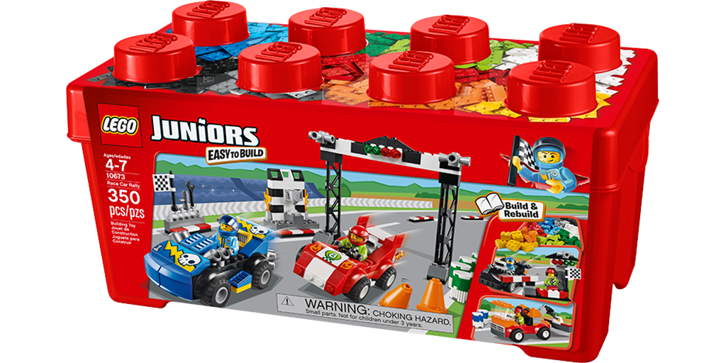 Lego Juniors Race Car Rally - Byrnes Online
