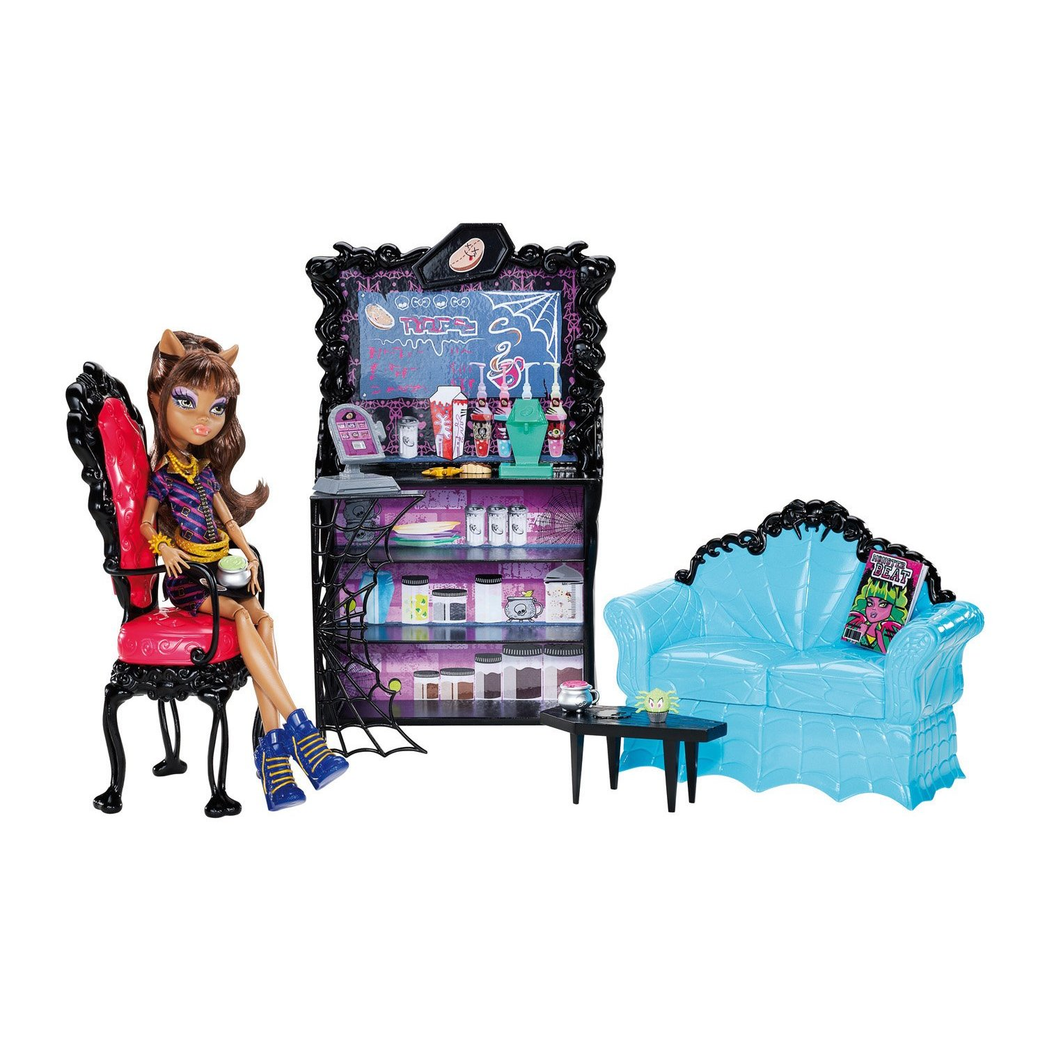 Monster High Coffin Bean and Clawdeen Wolf Byrnes line