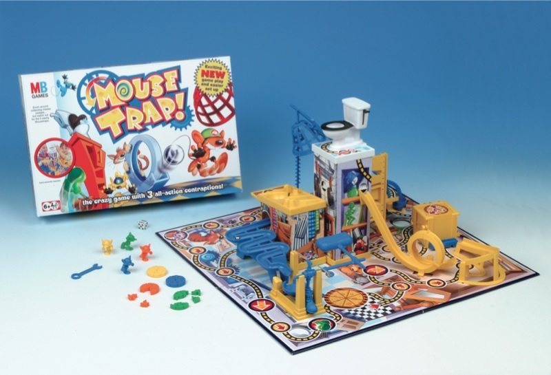 Mouse Trap Game Cage Multi