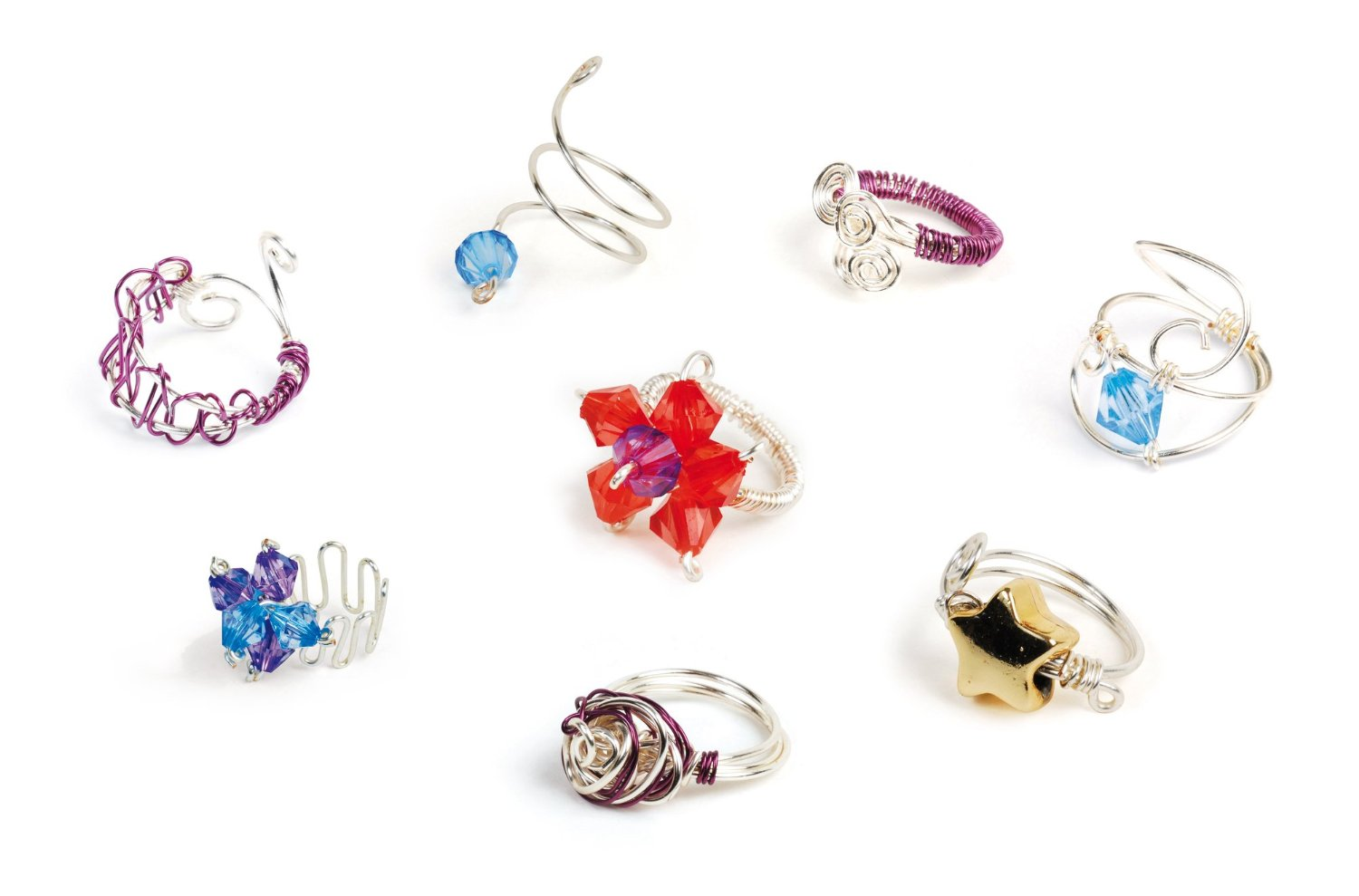 My Style Wire Craft Rings - Byrnes Online