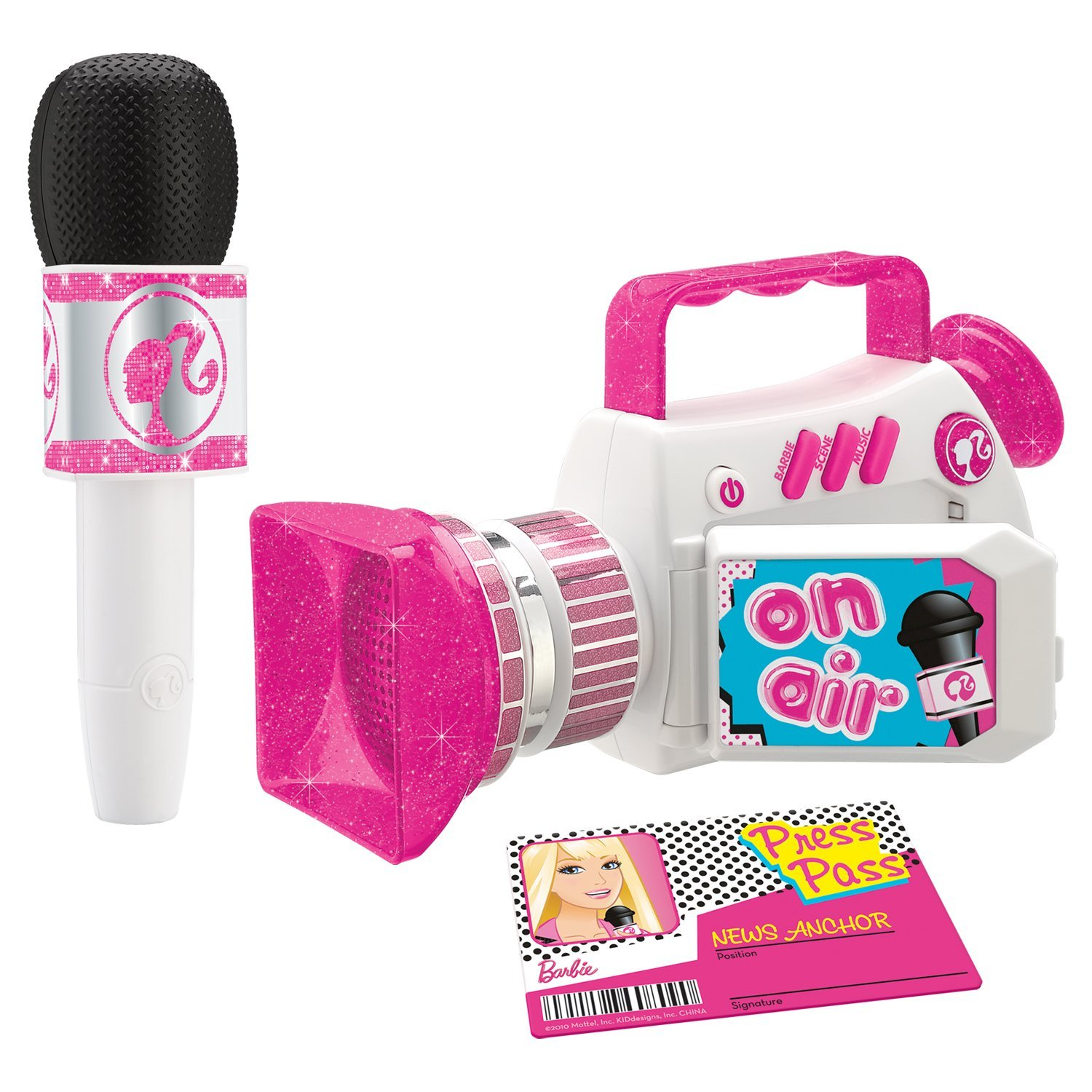Barbie News Anchor Set Byrnes
