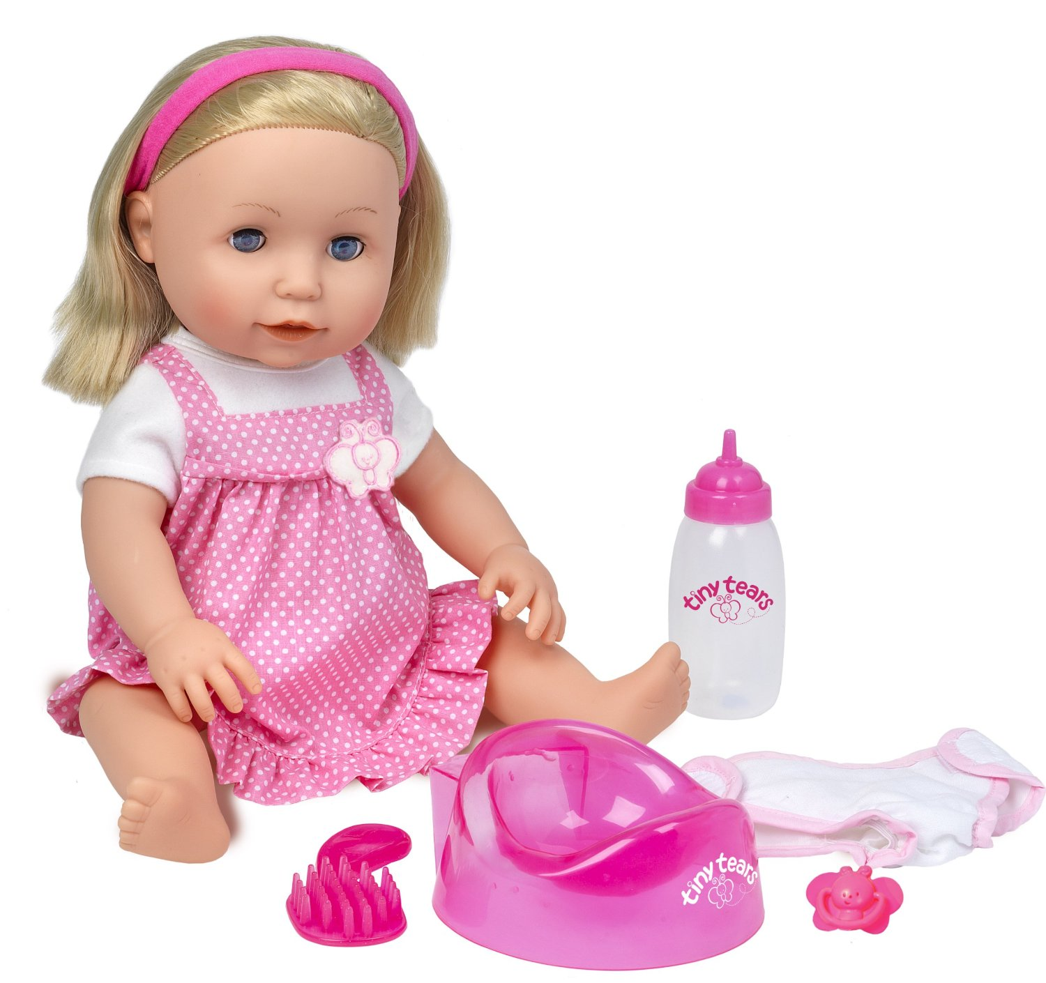 Toys And Tears : Classic tiny tears doll byrnes online
