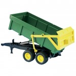 tipping trailer - green yellow