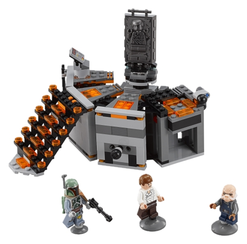 Carbon freezing chamber lego star wars byrnes online for Chambre lego