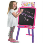 disney princess double sided floor standing easel 2