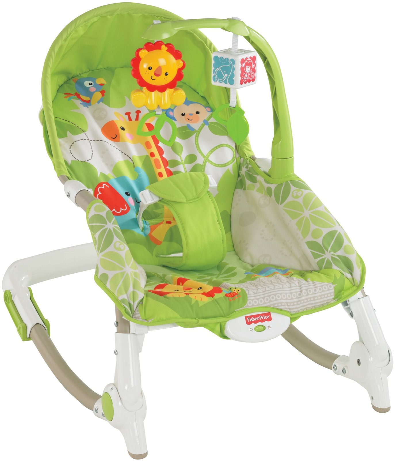 rainforest infant to toddler rocker byrnes online. Black Bedroom Furniture Sets. Home Design Ideas