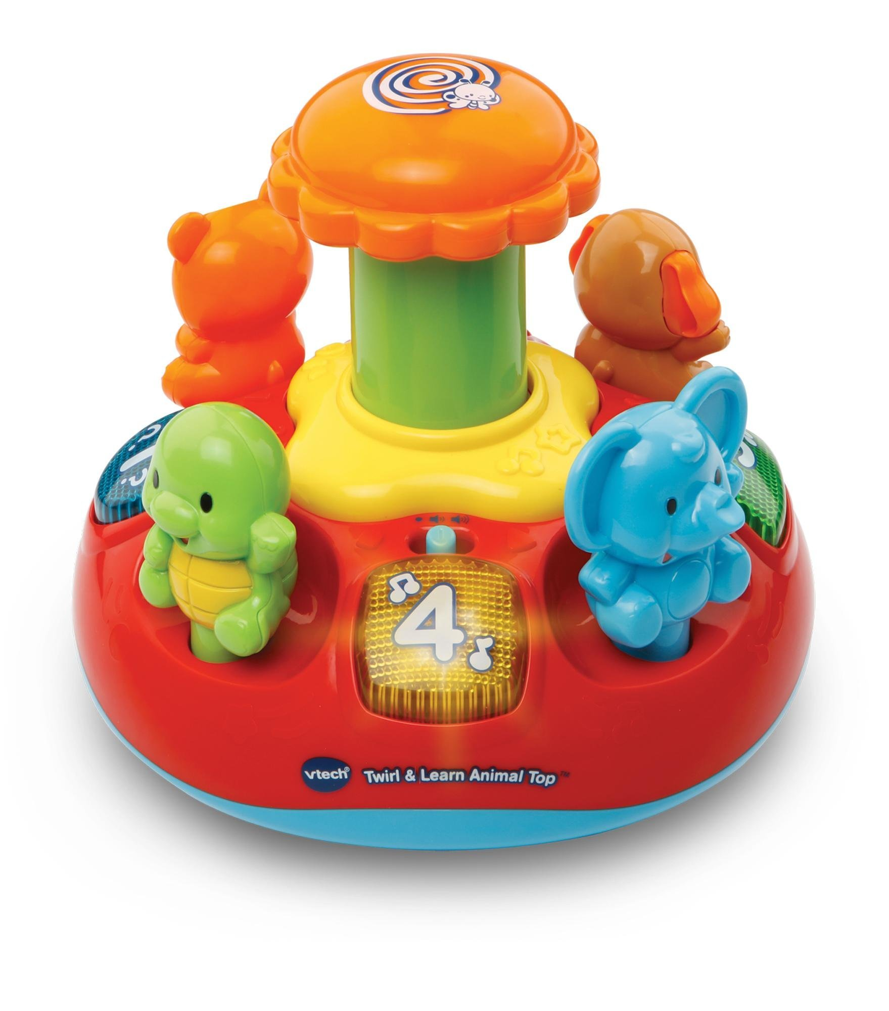 Best Baby Toys : Vtech push play spinning top byrnes online