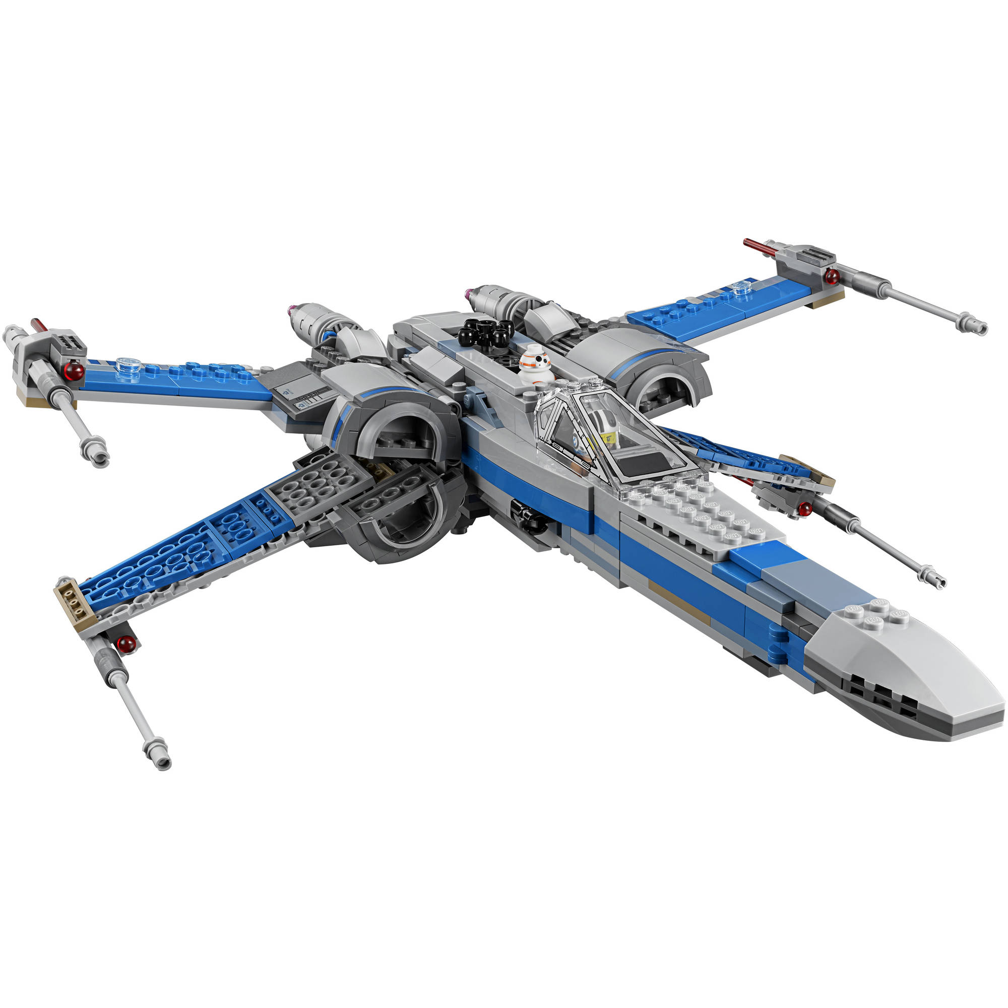 lego star wars resistance x wing fighter byrnes online. Black Bedroom Furniture Sets. Home Design Ideas