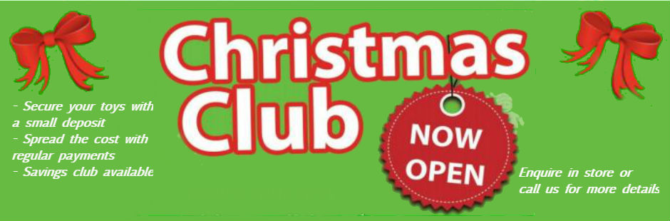 Christmas Club now open!