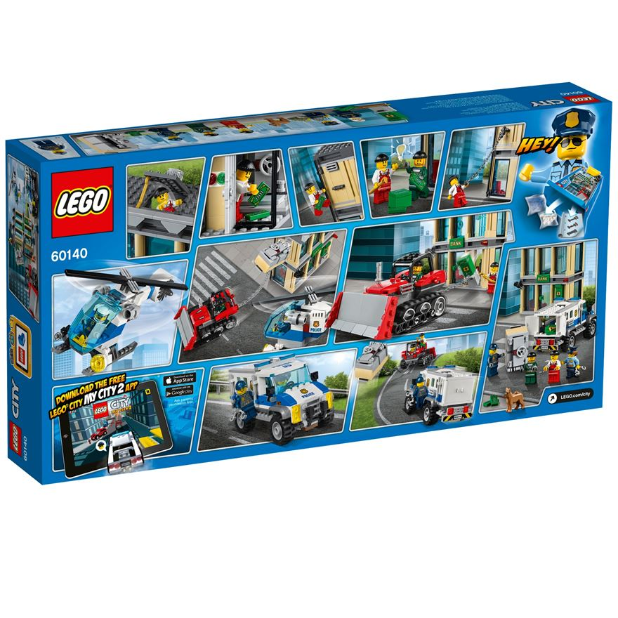 Lego City Police Bulldozer Break In Byrnes Online