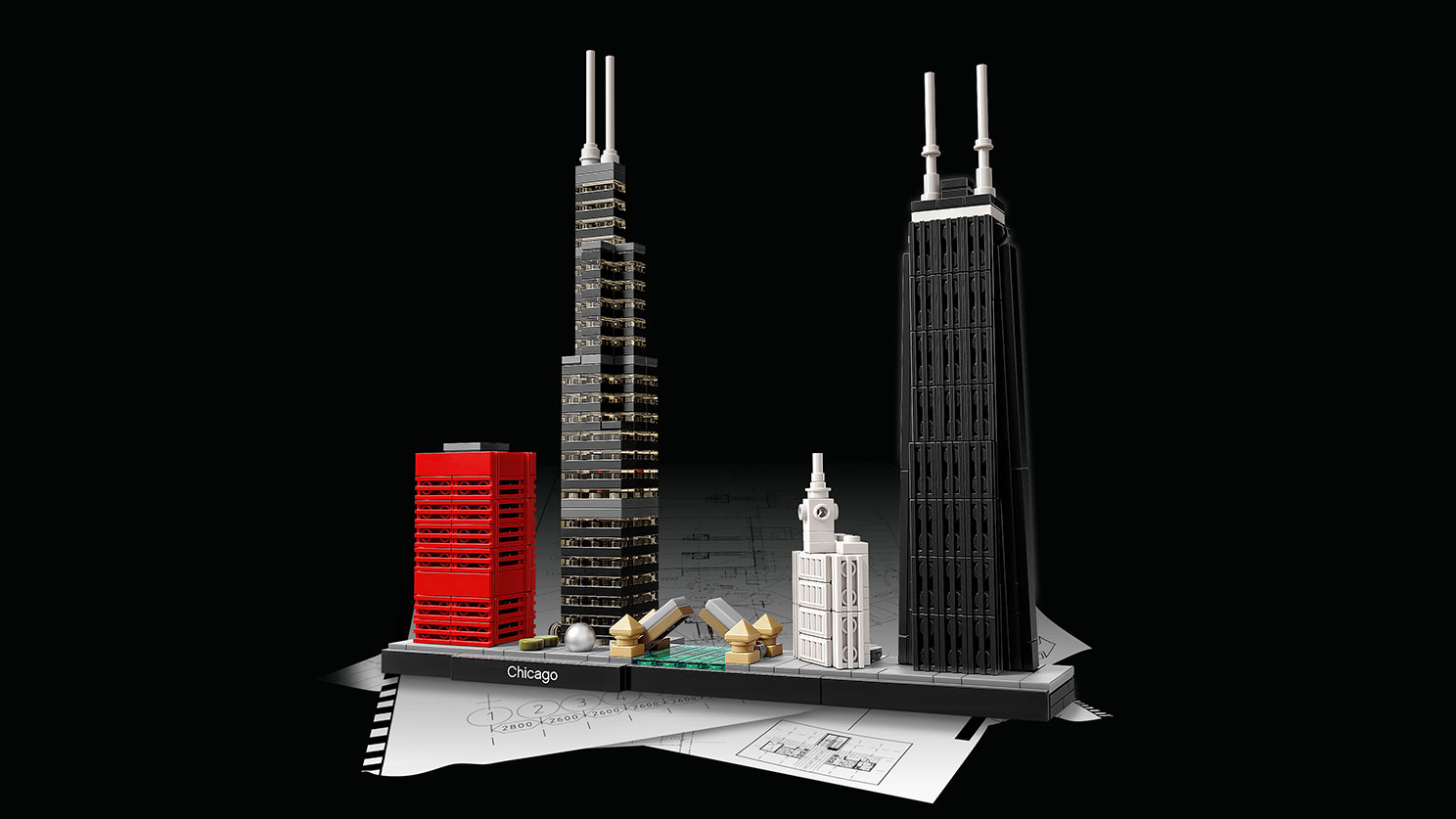 Lego architecture chicago byrnes online for Architecture lego