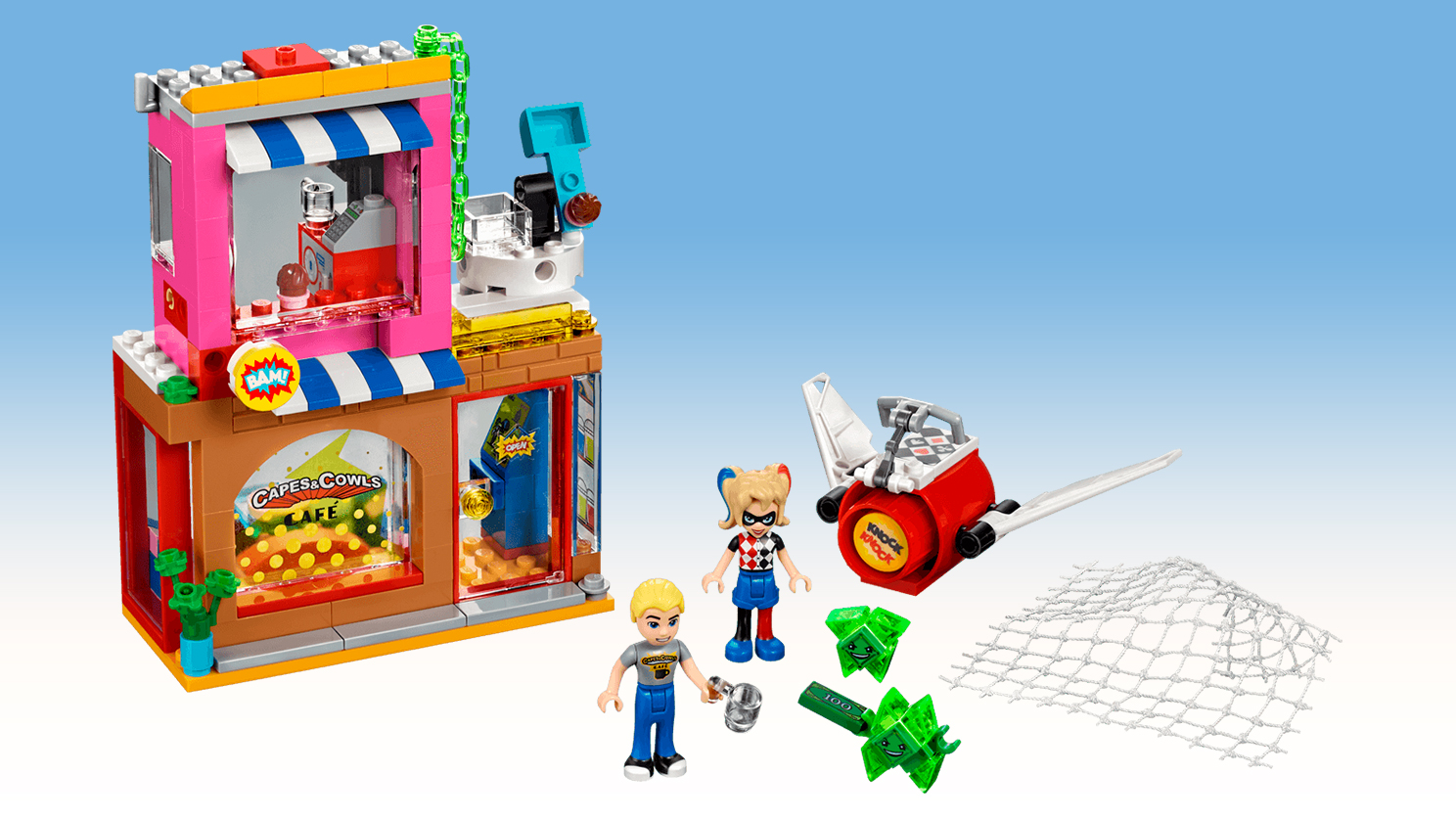 Lego Dc Super Hero Girls Harley Quinn To The Rescue Byrnes Online