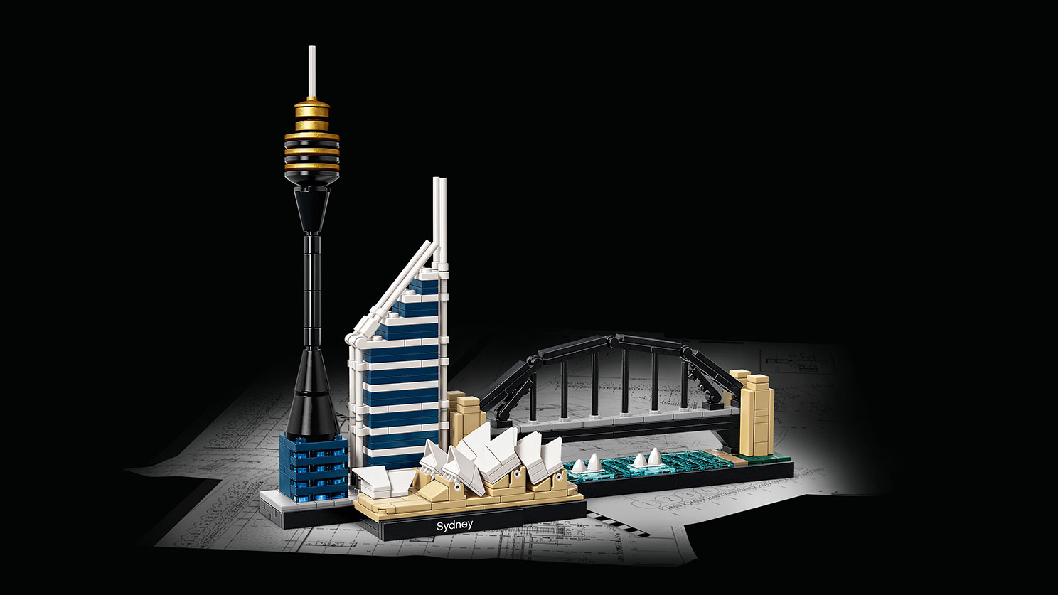 Lego architecture sydney byrnes online for Architecture 2017