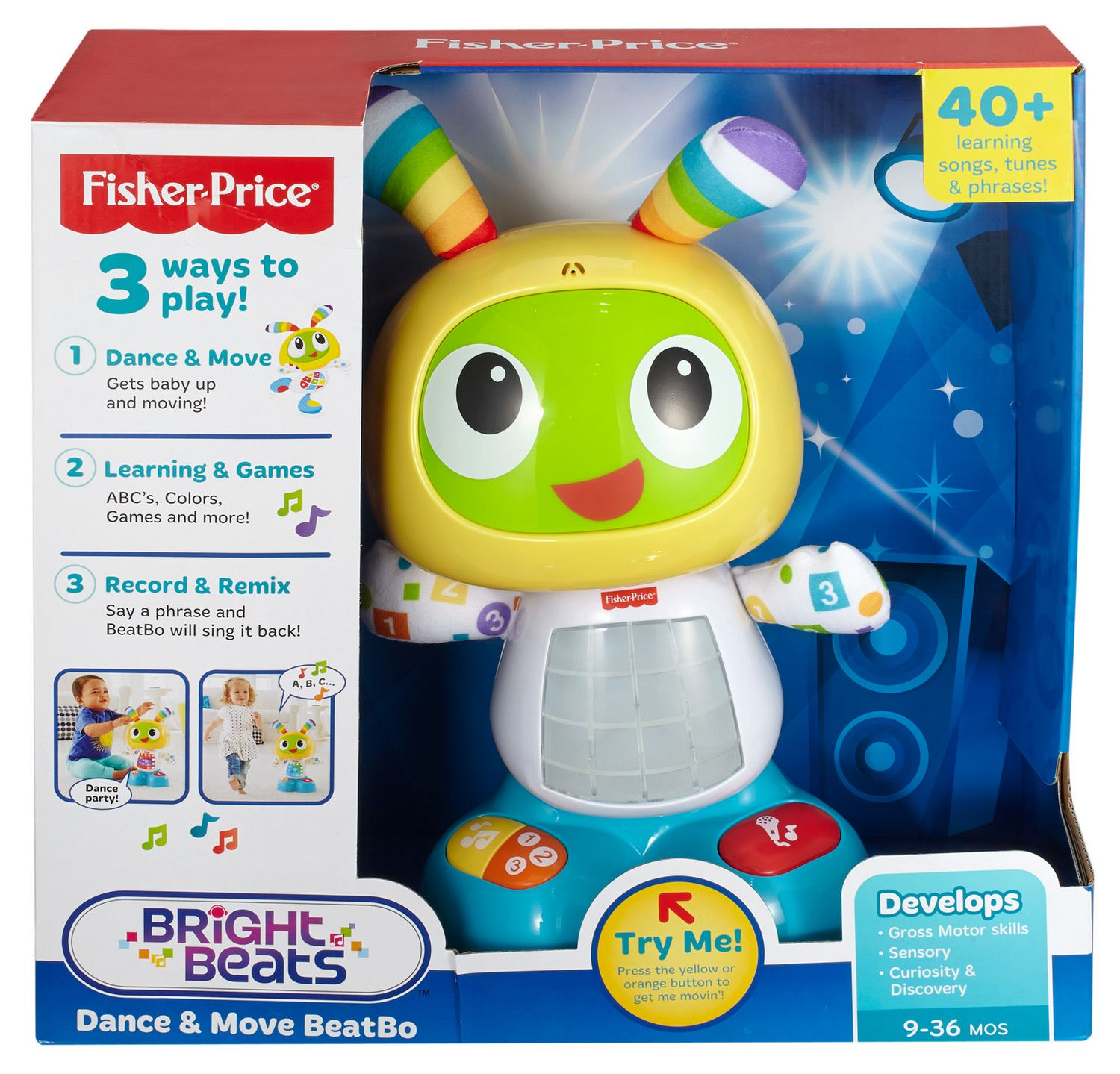 Fisher Price BeatBo Byrnes line