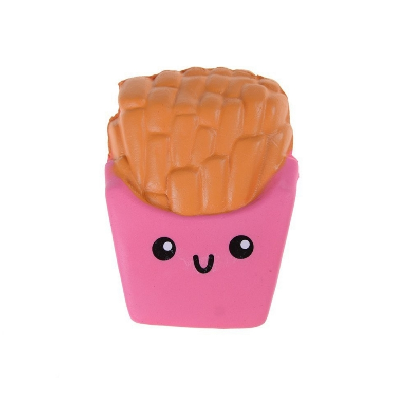 pink french fries