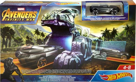 marvel hot wheels black panther
