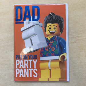 lego fathers day card