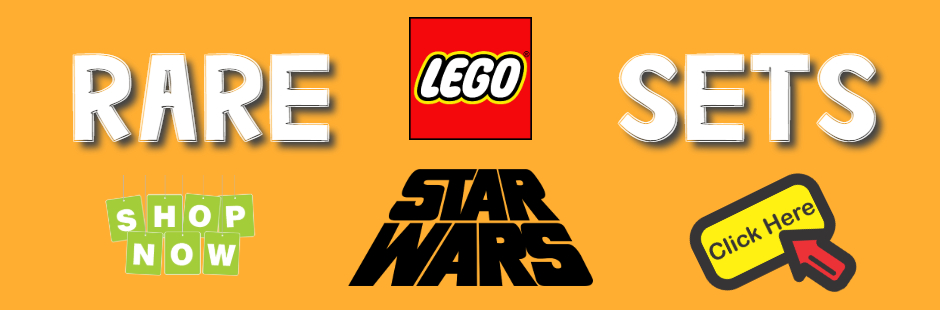 Rare Star Wars Lego Sets Banner
