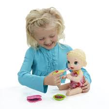 BABY ALIVE SNACKIN LILY 1